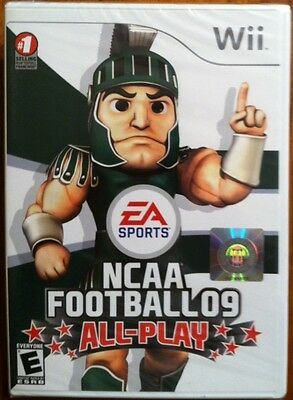 Wii Ncaa Football 09 All-play,