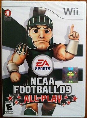 Wii Ncaa Football 09 All-play,