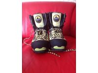 La Sportiva Nepal GTX Gore-Tex mountaineering boots (B3) size 4.5