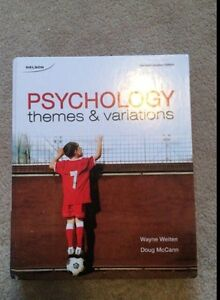 Psychology themes and variation textbook