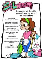 New openings for cleaning Residential and Commercial