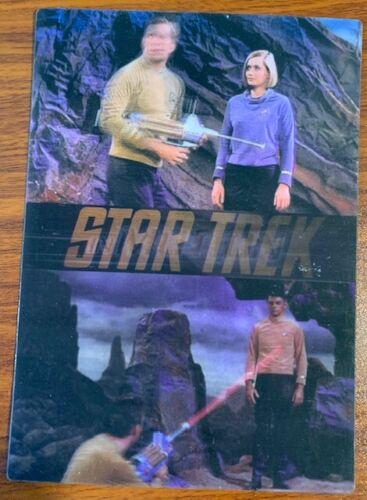 1999 Rittenhouse Star Trek Motion #4 Where No Man Has Gone Before Free Shipping
