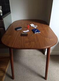 1960's veneer style table.