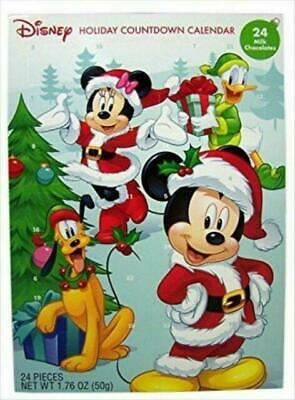 2016 Christmas Advent Holiday Countdown Calendar With 24 Milk Chocolates Disney