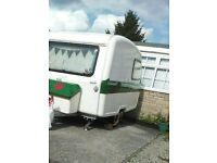 FREEDOM MICROLITE CARAVAN NICELY REFURBISHED COMPLETE WITH FITTINGS/AWNING/ACCESSORIES