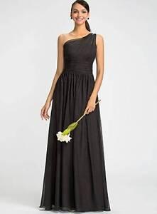 Plus sized - black one shouldered formal dress Bundamba Ipswich City Preview