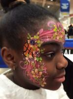Face Painting, Balloon Animals, hand painted tattoos and more!