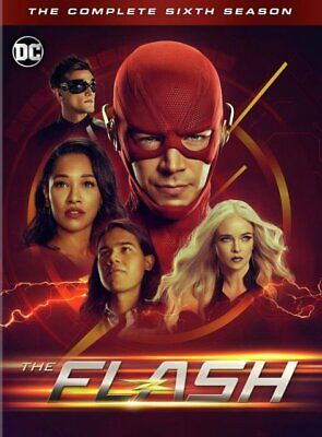 The Flash Season 6 (4-Disc DVD Set) New & Sealed Free Shipping Included!