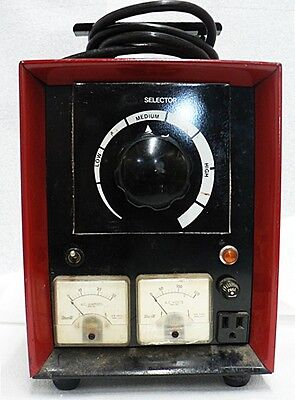 Vintage Television Amperes And Volts Meter Tester