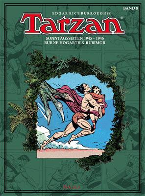 Tarzan Sonntagsseiten, BOCOLA Verlag, Band 8 1945 - 1946 Burne Hogarth & Rubimor