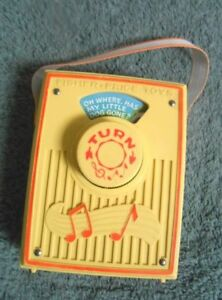 TWO FISHER PRICE MUSIC BOXES