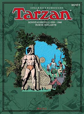 Tarzan Sonntagsseiten, BOCOLA Verlag, Band 5, 1939 - 1940, Burne Hogarth