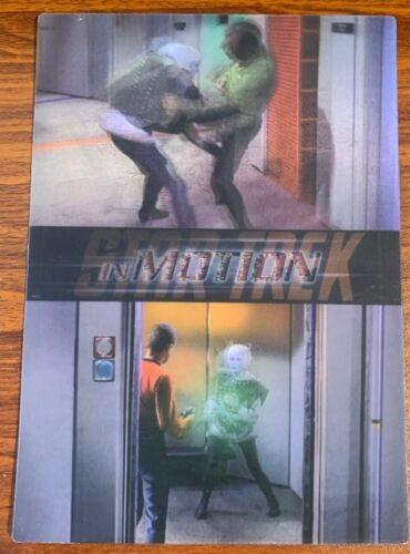 1999 Rittenhouse Star Trek Motion #18 Journey to Babel Free Shipping