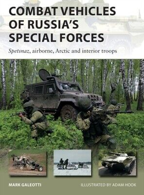 New Vanguard 282 Combat Vehicles of Russia's Special Forces, Spetsnaz, Airb BOOK