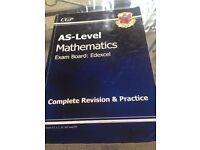 AS Edexcel maths revision book