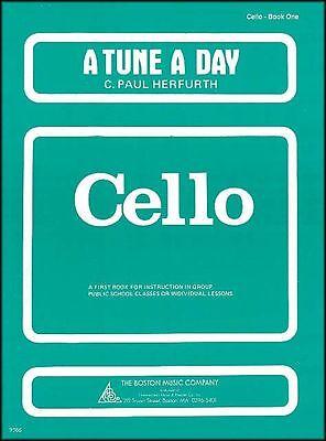 A Tune A Day For Cello Book One