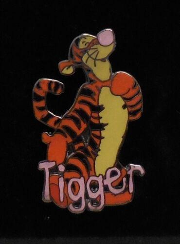Disney Pin Winnie the Pooh & Friends Name Series Tigger Pin