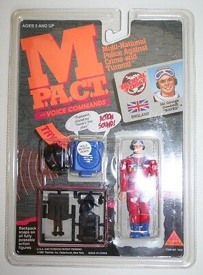 Waves Sir George Goodwill Action Figure M-p.a.c.t. M-pact Toymax 1991 Military