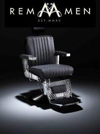 R.E.M. viscount barber chair