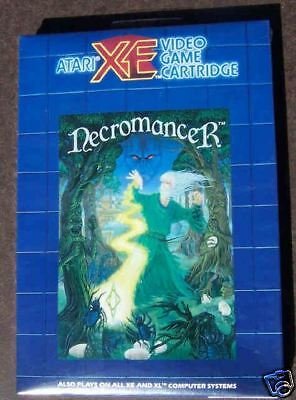 Necromancer Cartridge Atari  XE Blue New 800/XL/XE