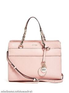 GUESS Marciano Rose Coral Satchel Purse Bag