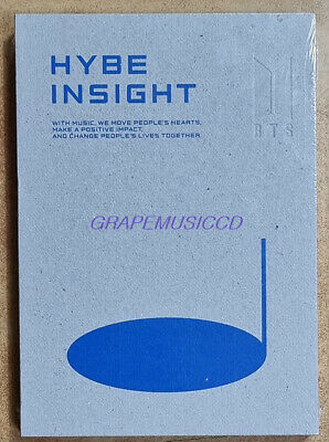 HYBE INSIGHT OFFICIAL GOODS BTS POST CARD POSTCARD BOOK SEALED