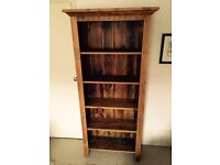 Beautiful solid wood bookshelf