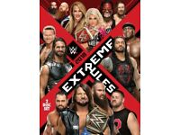 WWE Extreme Rules 2018 BRAND NEW DVD
