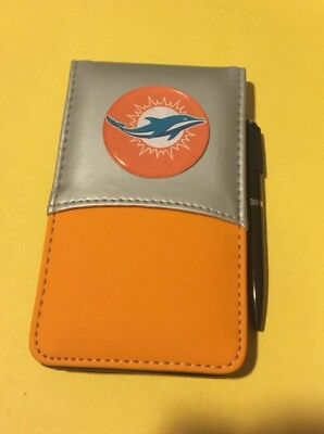 - MIAMI DOLPHINS Jotter Notebook Calculator Combo note pad paper pen