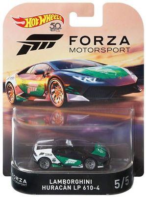 Hot Wheels Lamborghini Huracan LP 610-4 Forza Motorsport DMC55-956J 1:64 5/5