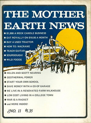 1971 The Mother Earth News Magazine  11  Candle Business Eat On  10 Month