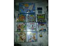 Nintendo 2ds & 12 games
