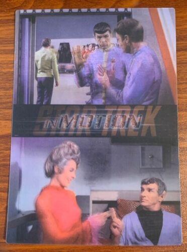 1999 Rittenhouse Star Trek Motion #17 Journey to Babel Free Shipping