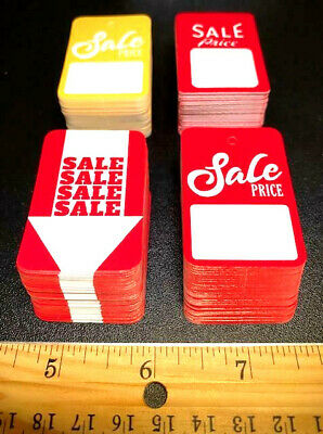 Multi-pack Of 200 1 Tags In The Industry Asstd Retail Store Sale Price Tags