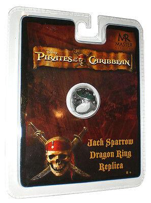 Jack Sparrow Dragon Drachen Ring Fluch der Karibik Schmuck Pirat Kostüm Fasching