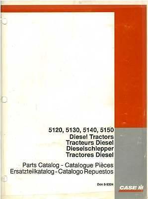 Case IH Tractor 5120 5130 5140 5150 Parts Manual