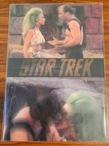 1999 Rittenhouse Star Trek Motion #19 The Gamesters of Triskelion Free Shipping
