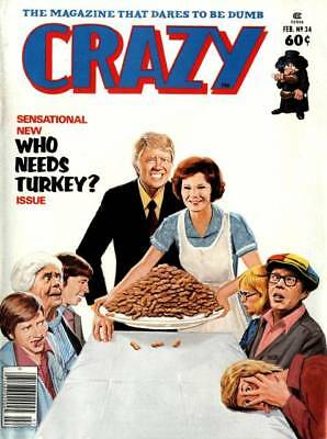 Crazy Magazine 90 Issues Free Shipping