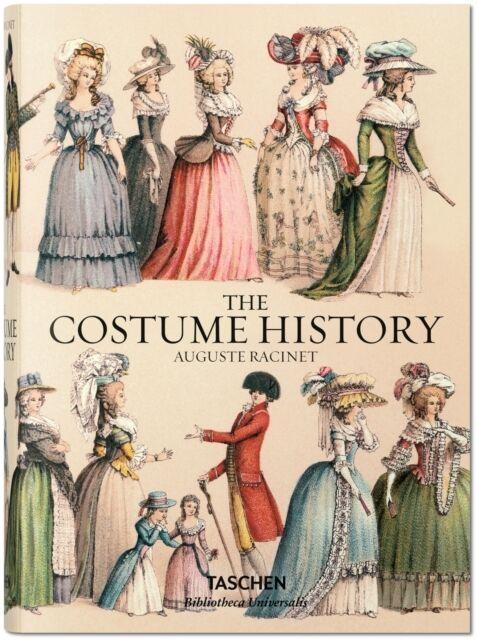 Racinet. The Complete Costume History (Hardcover), Tetart-Vittu, . 9783836555401