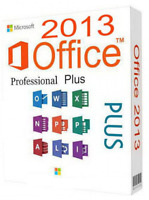Microsoft Office for Windows and Mac, MS Office 2013/16 Pro Plus