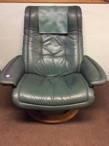 Ekornes Reclining Leather Chair