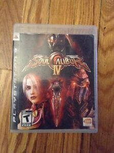 SOUL CALIBUR IV FOR PS3