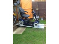 8MPH 25 Stone Capacity Sterling XS Mobility Scooter Heavy Duty With Charger Only £325