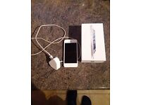 Iphone 5 in white.