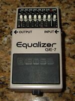pedal Boss GE-7 equalizer (made in japan)