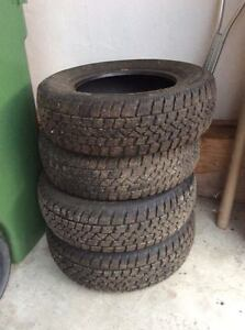 4 Winter tires from Honda Civic