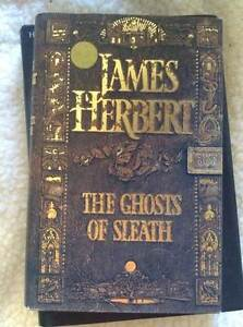 The Ghosts of Sleath by James Herbert Trott Park Marion Area Preview