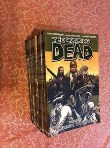 Various Zombie Themed Books