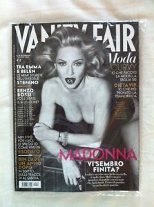 MADONNA Italian / Italia Vanity Fair - Front Cover May 9th 2012 Brand New Sealed