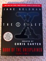 The X Files: Book of the Unexplained Vol. 1 + 2 by Jane Goldman